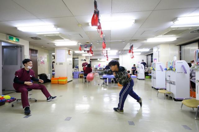 リハビリテーションルームの様子②